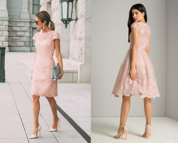 What Shoes Can I Wear With A Pale Pink Dress