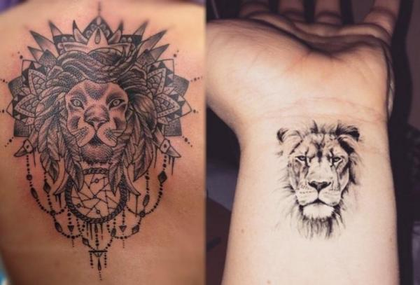 Symbolic Meaning of a Lion Tattoo - Ideas & Designs - A tattoo that symbolizes your personal power
